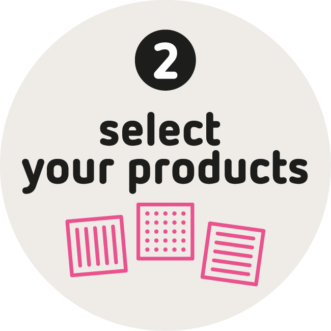Blinkink Select your products